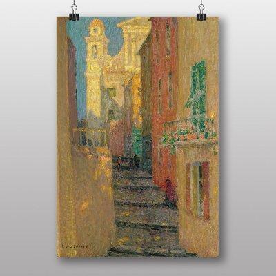 "Big Box Art ""Street Steps"" by Henri Le Sidaner Art Print"
