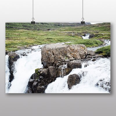 Big Box Art 'Iceland Brook' Photographic Print