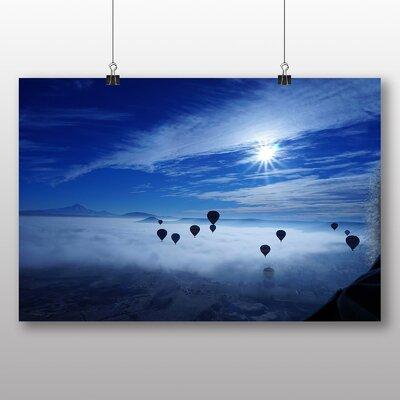 Big Box Art Hot Air Balloon No.4 Photographic Print on Canvas
