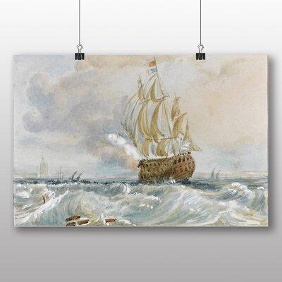 Big Box Art 'Watercolour No.2' by Joseph Mallord William Turner Art Print