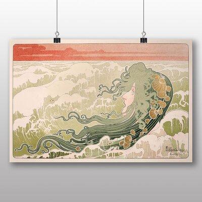 Big Box Art 'The Wave' by Henri Privat-Livemont Art Print