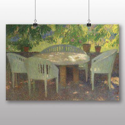 "Big Box Art ""Garden No.3"" by Henri Martin Art Print on Canvas"