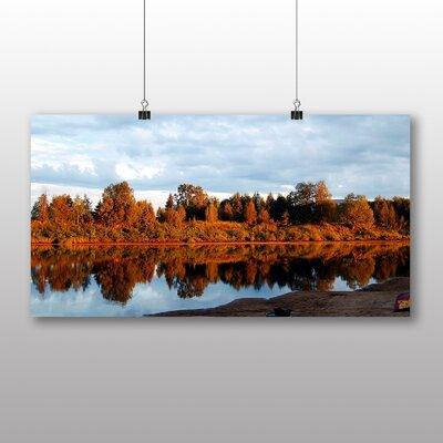 Big Box Art Lapland Forest Finland No.1 Photographic Print on Canvas