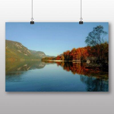 Big Box Art Lake Bohinj Slovenia Photographic Print Wrapped on Canvas