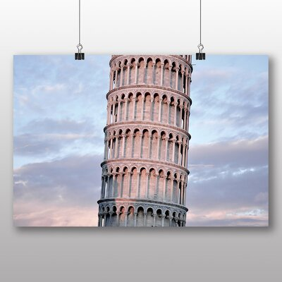 Big Box Art Leaning Tower of Pisa Italy Photographic Print
