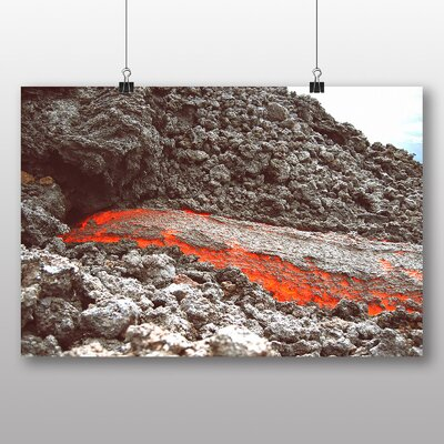 Big Box Art 'Guatemala Magma Volcano' Photographic Print