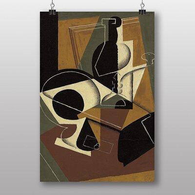 "Big Box Art ""Cafe Moulin"" by Juan Gris Graphic Art"