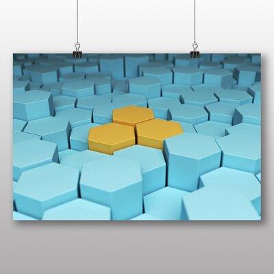 Big Box Art Hexagon Graphic Art