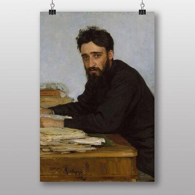 "Big Box Art ""Vsevolod Mikhailovich Garshin"" by Ilya Repin Art Print"