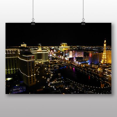 Big Box Art Las Vegas Strip Skyline Nevada USA Photographic Print