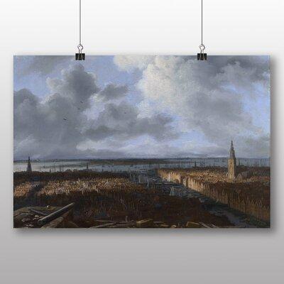 Big Box Art 'A View of Amsterdam' by Jacob Ruisdael Art Print