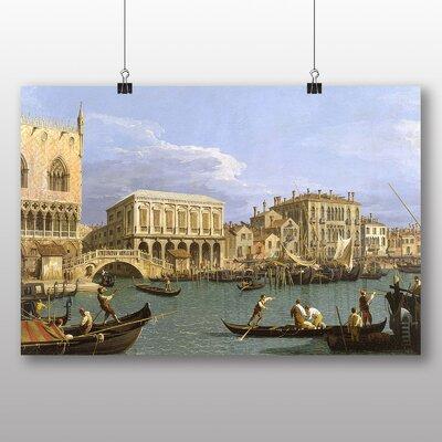 Big Box Art 'Riva Degli Schiavoni, Venice' by Giovanni Canaletto Art Print