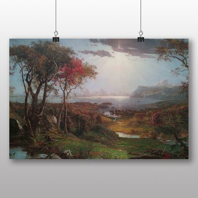 Big Box Art 'Autumn Landscape' by Jasper Francis Cropsey Art Print