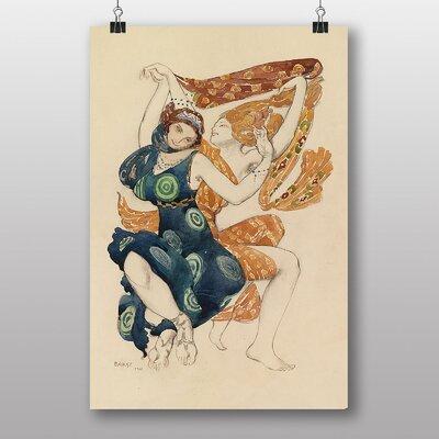 Big Box Art Narcisse by Leon Bakst Art Print