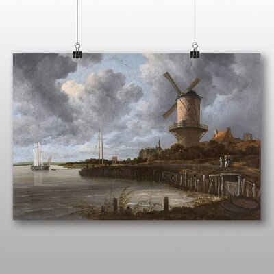 Big Box Art 'The Windmill' by Jacob Ruisdael Art Print