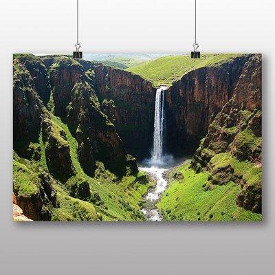 Big Box Art Lesotho Landscape No.2 Photographic Print Wrapped on Canvas