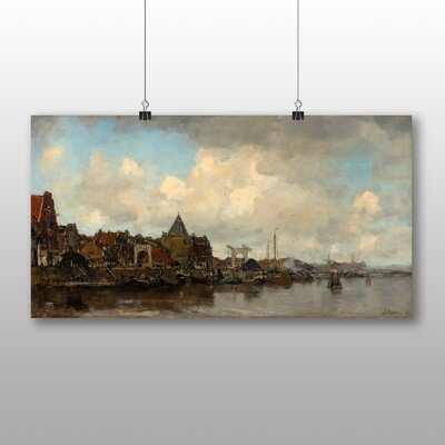 Big Box Art 'The Schreierstoren' by Jacob Maris Art Print