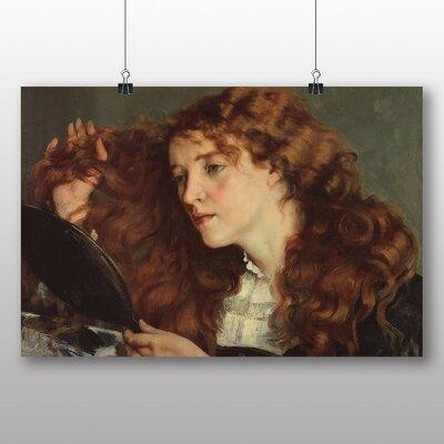 Big Box Art 'Jo the Beautiful Irish Girl' by Gustave Courbet Art Print
