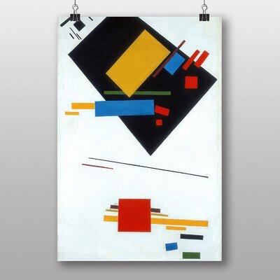 Big Box Art Composition No.2 by Kazimir Malevich Art Print