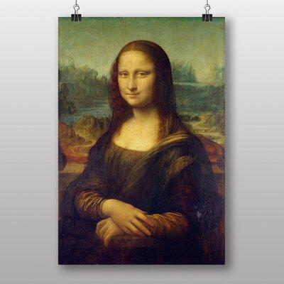 Big Box Art Leonardo Da Vinci the Mona Lisa by Leonardo Da Vinci Art Print