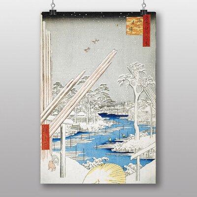 "Big Box Art ""Japanese Oriental No.28"" by Hiroshige Art Print"
