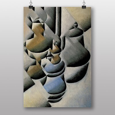 Big Box Art Still Life No.4 by Juan Gris Art Print