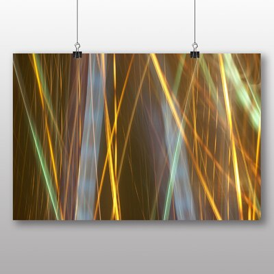 Big Box Art Kinetic Abstract Electricity No.4 Graphic Art