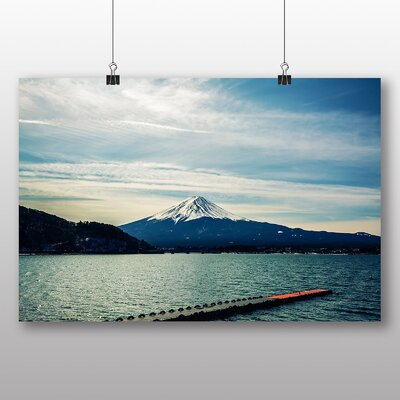 Big Box Art Lake No.1 Photographic Print on Canvas
