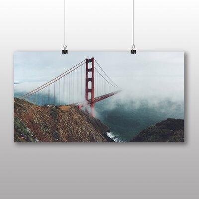 Big Box Art Golden Gate Bridge San Francisco No.2 Photographic Print Wrapped on Canvas