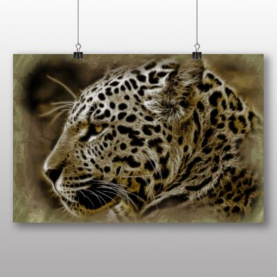 Big Box Art Jaguar No.2 Photographic Print on Canvas