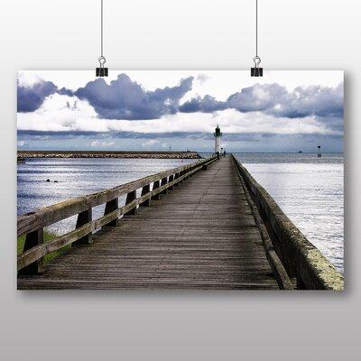 Big Box Art Lighthouse No.3 Photographic Print on Canvas