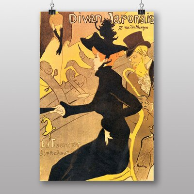 Big Box Art 'Artwork No.16' by Jules Cheret Vintage Advertisement