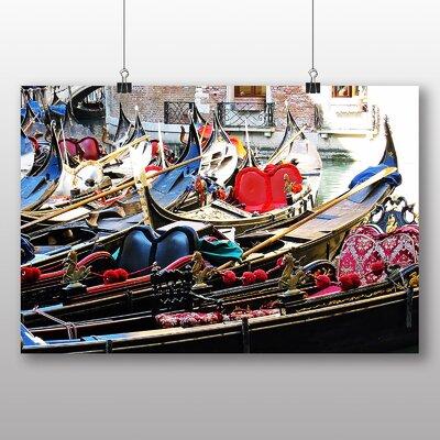 Big Box Art Gondolas Venice Italy No.4 Photographic Print