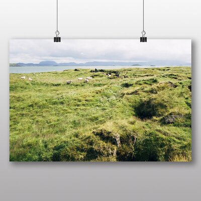 Big Box Art 'Iceland Flock of Sheep' Photographic Print