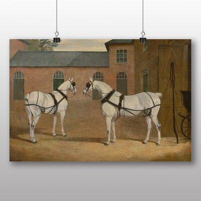 Big Box Art 'Carriage Horses' by John Frederick Herring Art Print