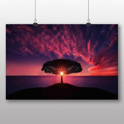 Big Box Art 'Lone Tree at Dusk' Photographic Print