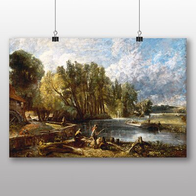 Big Box Art 'Stratford Mill' by John Constable Art Print