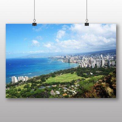 Big Box Art Honolulu Hawaii Photographic Print on Canvas
