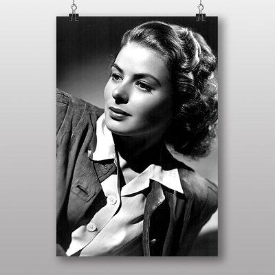 Big Box Art Ingrid Bergman Photographic Print
