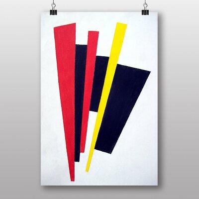 "Big Box Art ""Abstract No.5"" by Kazimir Malevich Art Print"
