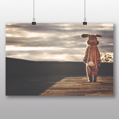 Big Box Art 'Lone Bunny' Photographic Print