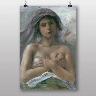 "Big Box Art ""Innocent"" by Lovis Corinth Art Print"
