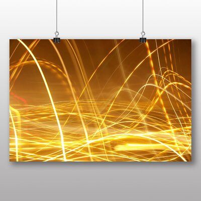 Big Box Art Kinetic Abstract Electricity No.3 Graphic Art