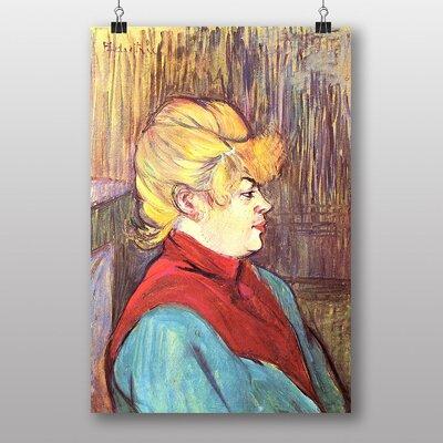 """Big Box Art """"Woman"""" by Henri de Toulouse-Lautrec Art Print"""