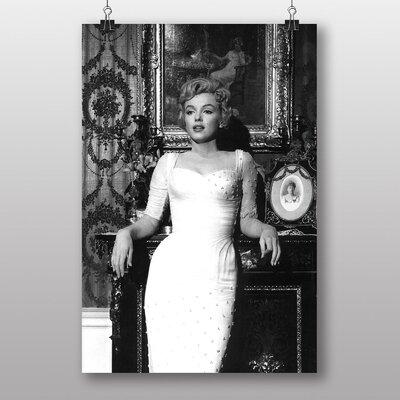 Big Box Art Marilyn Monroe No.5 Photographic Print on Canvas