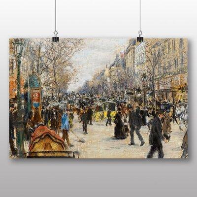 Big Box Art 'On the Grand Boulevard' by Jean Francois Raffaelli Art Print