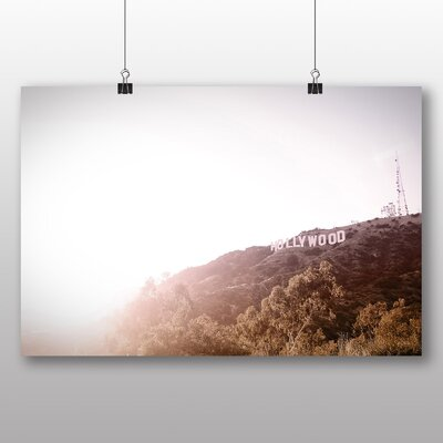Big Box Art Hollywood Sign Los Angeles Photographic Print