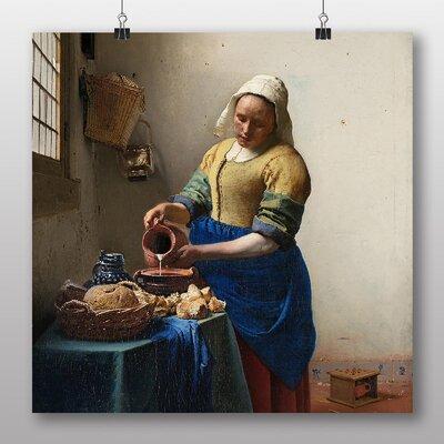 Big Box Art 'The Milkmaid' by Johannes Vermeer Art Print