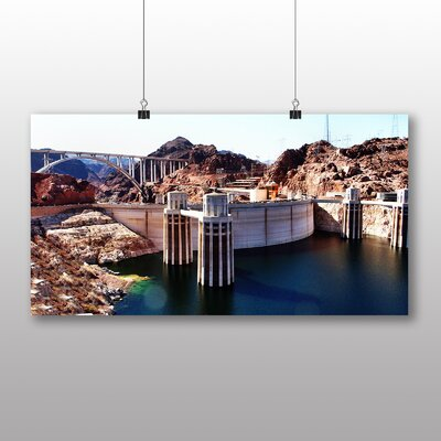 Big Box Art Hoover Dam Nevada No.2 Photographic Print on Canvas