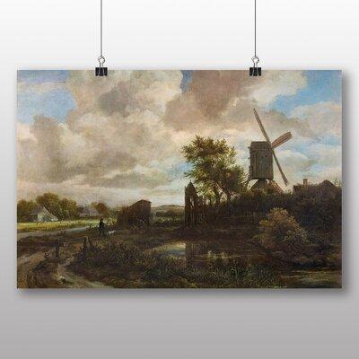 Big Box Art 'Evening Landscape' by Jacob Ruisdael Art Print